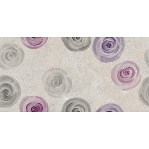 Keramika Kanjiza Limestone Roses 25x50 csempe