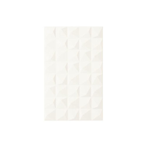 Kwadro Ceramika Melby Bianco Structure 25x40 csempe