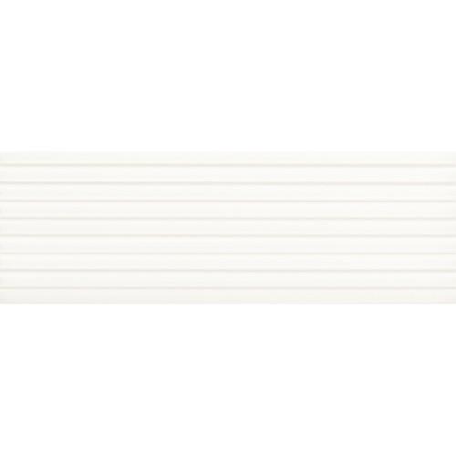 Paradyz Ceramika Elanda Bianco Stripes Structure 25x75 csempe
