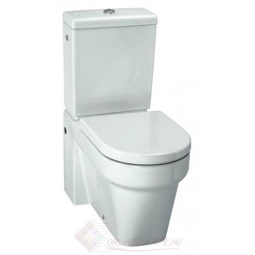 Laufen Form monoblokk WC, mély öblítés, variálható kifolyás