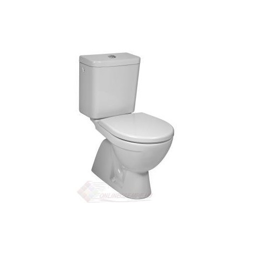 Jika Lyra Plus monoblokk WC, mély öblítés, alsó kifolyás