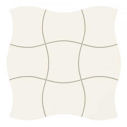 Tubadzin Royal Place White 29,3x29,3 mozaik