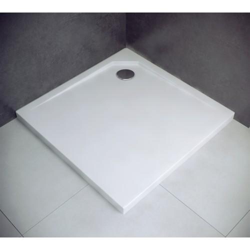 Besco Acro UltraSlim 80 szögletes zuhanytálca 80x80x2