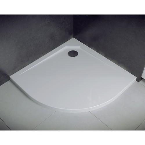 Besco Asco UltraSlim 90 íves zuhanytálca 90x90x2
