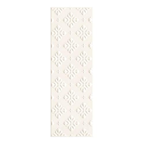 Arte Ceramika Blanca Bar White A 7,8x23,7 dekor