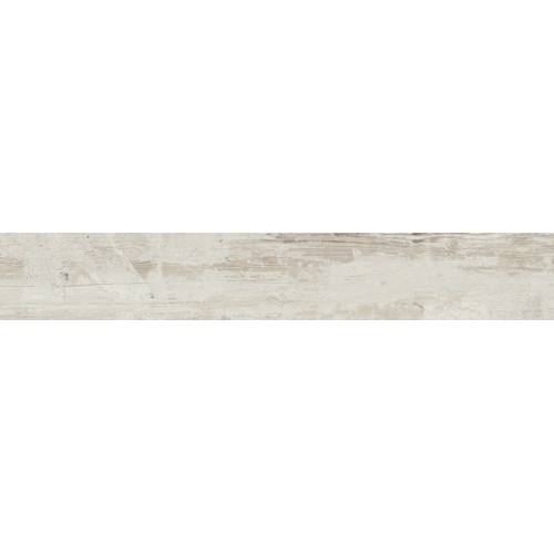Tubadzin Wood Work White STR 19x119,8 padlólap
