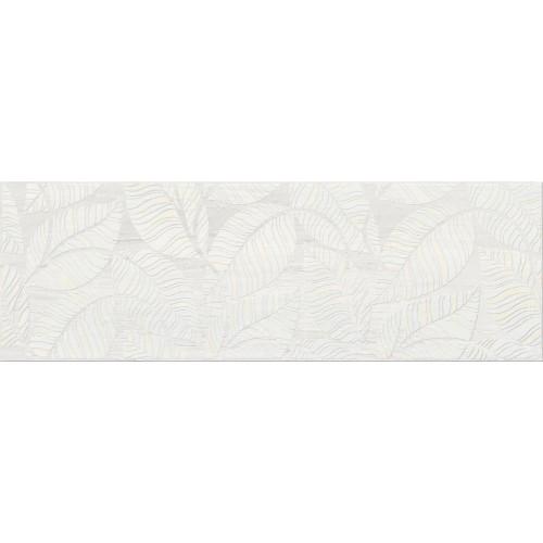 Cersanit Livi Cream Inserto Leaves 19,8x59,8 dekor