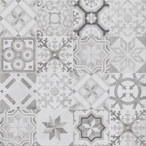 Cersanit Concrete Style Patchwork Inserto 42x42 padló dekor