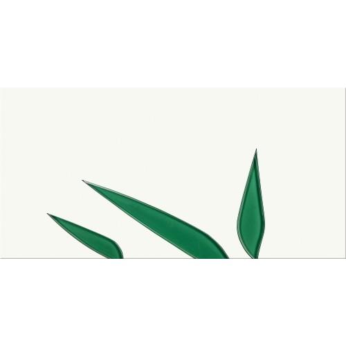 Cersanit Nature Green Inserto Leaf 29,7x60 dekor