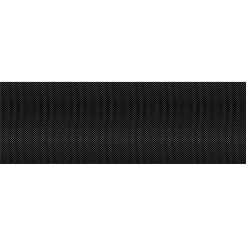 Cersanit Pret-a-Porter Black Textile 25x75 csempe