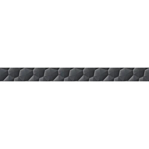 Cersanit Mystic Cemento Conglomerate Black Border 5,5x59,8 dekor csík