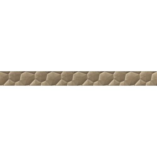 Cersanit Calm Orgainc Conglomerate Copper Border 5,5x59,8 dekor csík