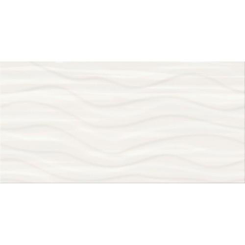 Cersanit PS803 White Satin Wave STR 29,8x59,8 csempe