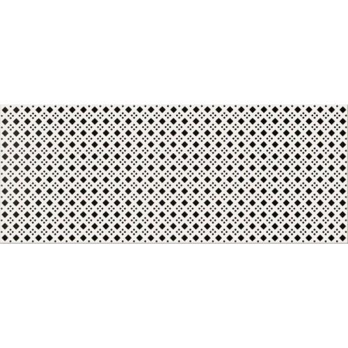 Opoczno Black&White Pattern D 19,8x59,8 dekor csempe