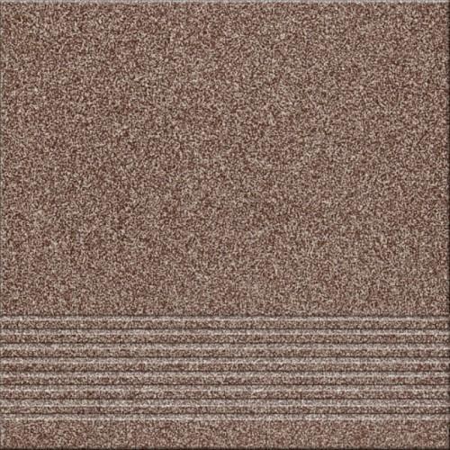 Opoczno Kallisto K5 Brown Steptread 29,7x29,7 lépcsőlap