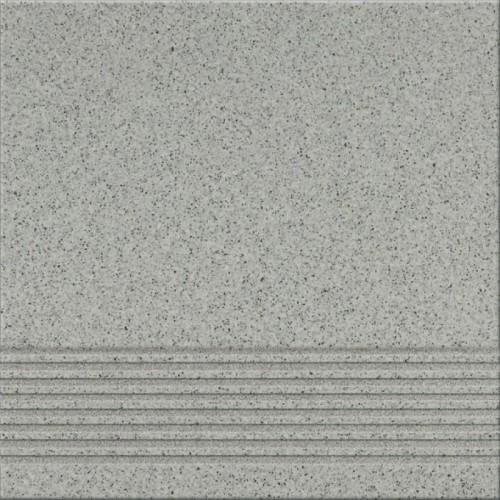 Opoczno Kallisto K9 Grey Steptread 29,7x29,7 lépcsőlap