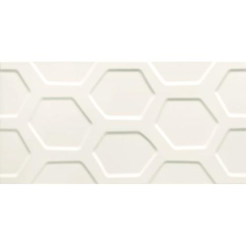 Tubadzyn All In White – White 1 STR. 29,8x59,8 fali csempe