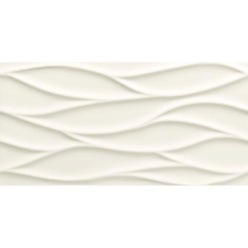 Tubadzyn All In White – White 3 STR. 29,8x59,8 fali csempe