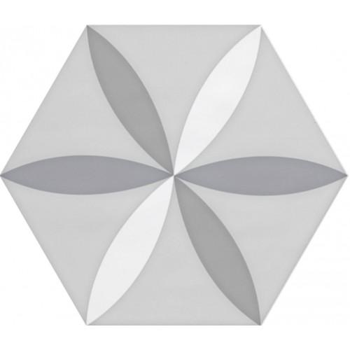 Cifre Ceramica Decor Vodevil White 17,5x17,5 fali csempe