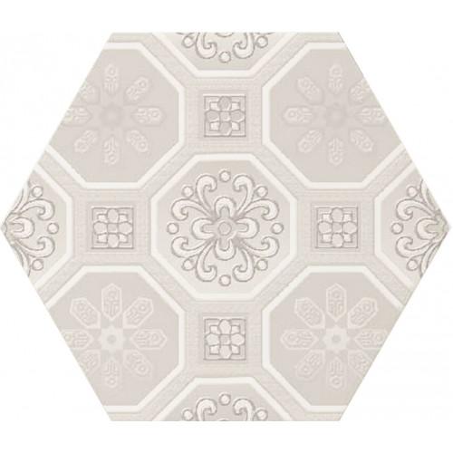 Cifre Ceramica Decor Vodevil Ivory 17,5x17,5 fali csempe