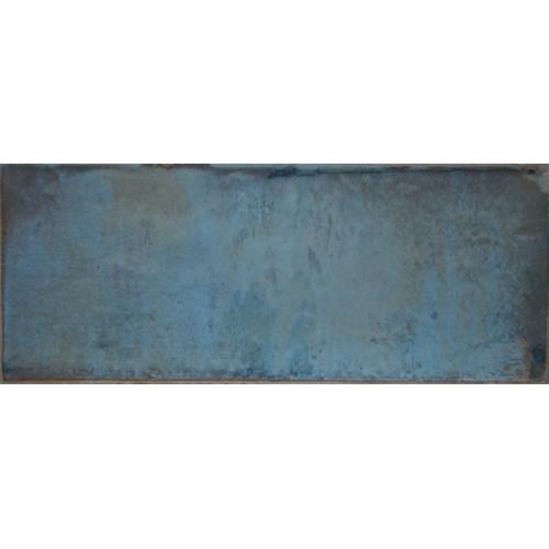 Cifre Ceramica Montblanc Blue 20x50 fali csempe