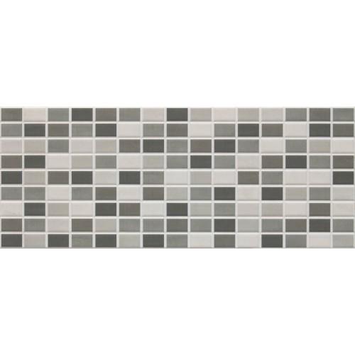 Cifre Ceramica Tesela Cement 20x50 fali csempe