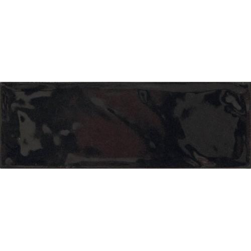 Cifre Ceramica Bulevar Black 10x30 fali csempe
