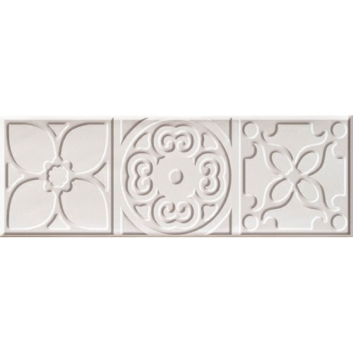 Cifre Ceramica Decor Altair White 10x30 dekor csempe