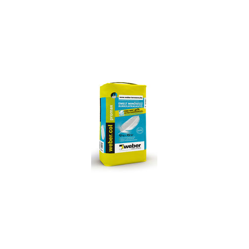 Weber.col promax(C2TE) csempe- és burkolólap ragasztó 17 kg