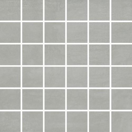 Opoczno Concrete Flower Dark Grey Mosaic 29,7x29,7 padlólap