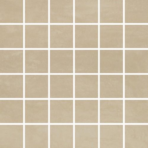 Opoczno Concrete Flower Cream Mosaic 29,7x29,7 padlólap
