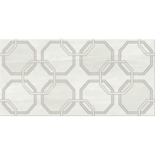 Cersanit City Light Grey Inserto Geo 29,7x60 dekor