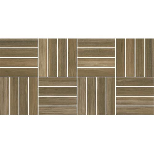 Cersanit Ambio Brown Mosaic 20x40 dekor