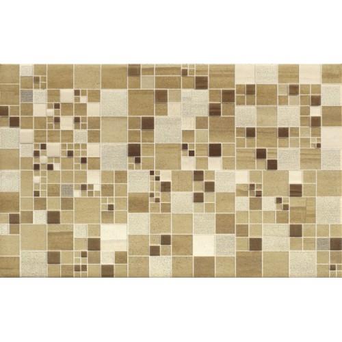Cersanit Mosa Cream Inserto Geo Squares 25x40 dekor