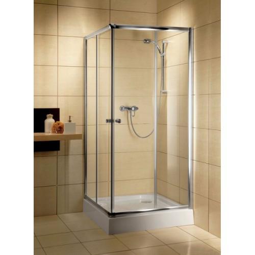 Radaway Classic C szögletes zuhanykabin 80x80, króm keret