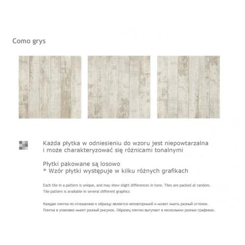 Paradyz Ceramika Como Grys 45x45 mázas gres padlólap