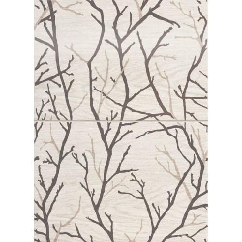 Domino Ceramika Inverno Tree 50x36 dekor szett
