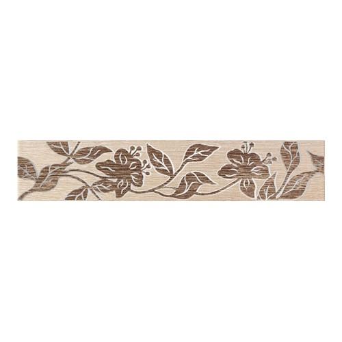 Arte Ceramika Castanio Beige 7,4x36 dekorcsík