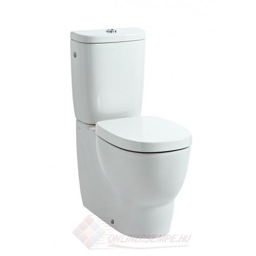 Laufen Mimo monoblokk WC, mély öblítés, variálható kifolyás