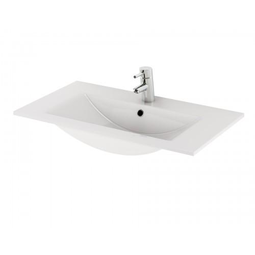 Cersanit Zuro 80 pultra szerelhető mosdó