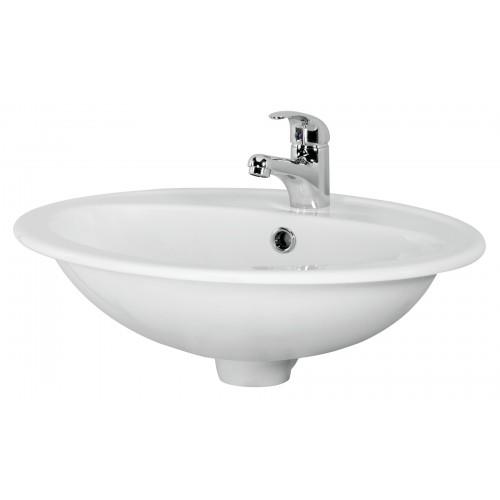 Cersanit Calla 54 pultra szerelhető mosdó