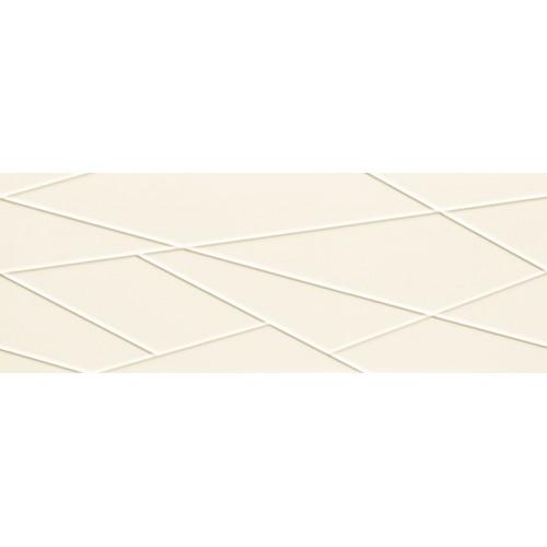 Tubadzin House of Tones White A STR 32,8x89,8 fali csempe