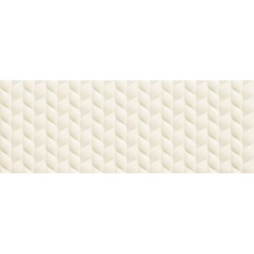 Tubadzin House of Tones White B STR 32,8x89,8 fali csempe