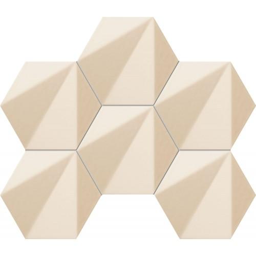 Tubadzin Chenille Beige Hex 22,1x28,9 mozaik