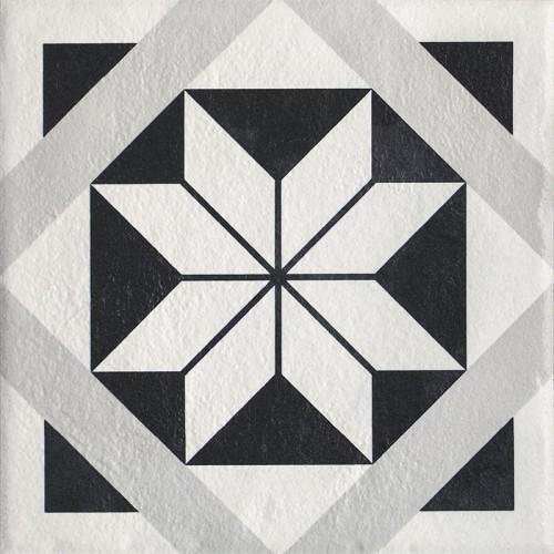 Paradyz Ceramika Modern Motyw F 19,8x19,8 padlólap