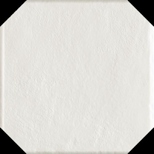 Paradyz Ceramika Modern Bianco Octagon 19,8x19,8 padlólap