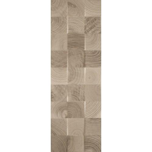Paradyz Ceramika Daikiri Wood Brown Kostki STR 25x75 csempe