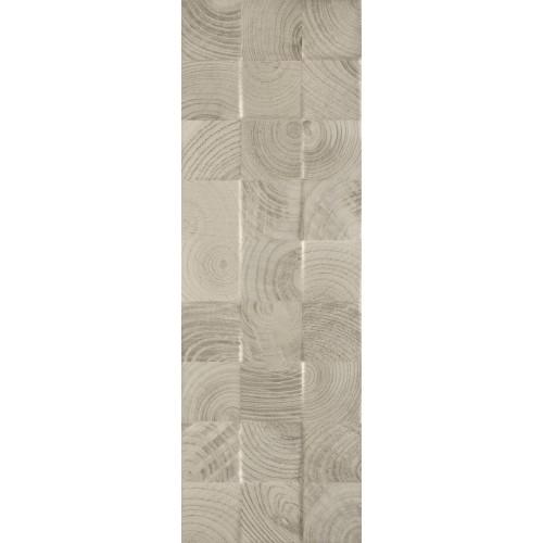 Paradyz Ceramika Daikiri Wood Grys Kostki STR 25x75 csempe