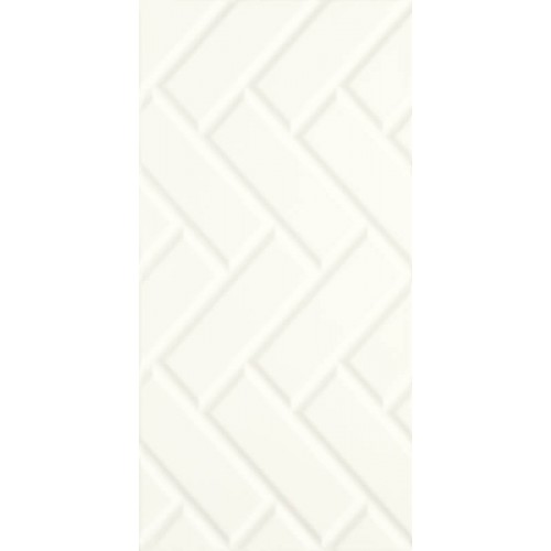 Paradyz Ceramika Moonlight Bianco STR A 29,5x59,5 csempe