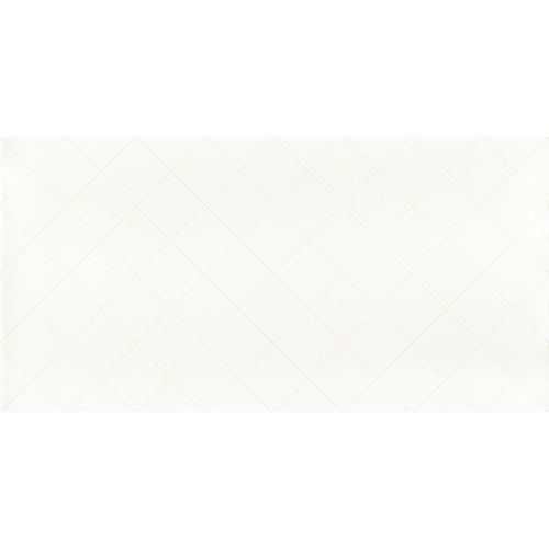 Paradyz Ceramika Tonnes Bianco Kratka 30x60 csempe